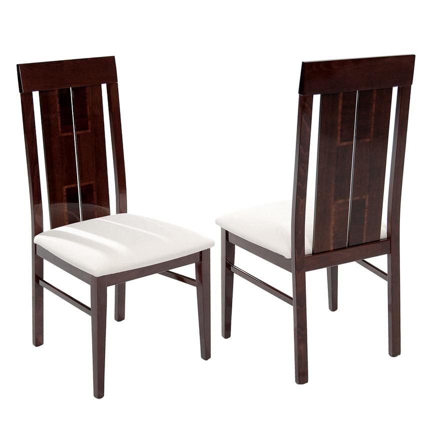 Pisa 5-Piece Formal Dining Set Made in Italy  alternate image, 9 of 13 images.