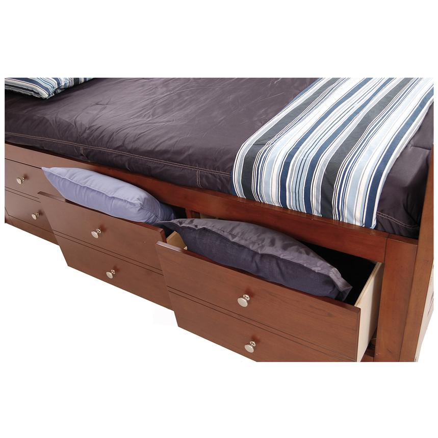 Village Craft Twin Captain Bed w/ Bunkie Board  alternate image, 5 of 7 images.