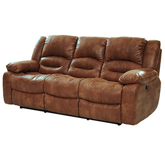 Wrangler Tan Recliner Sofa