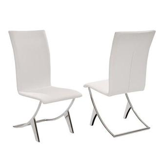 Delfin White Side Chair