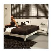 Chico White Queen Platform Bed w/Nightstands  alternate image, 2 of 8 images.