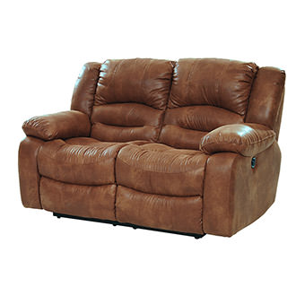 Wrangler Tan Recliner Loveseat