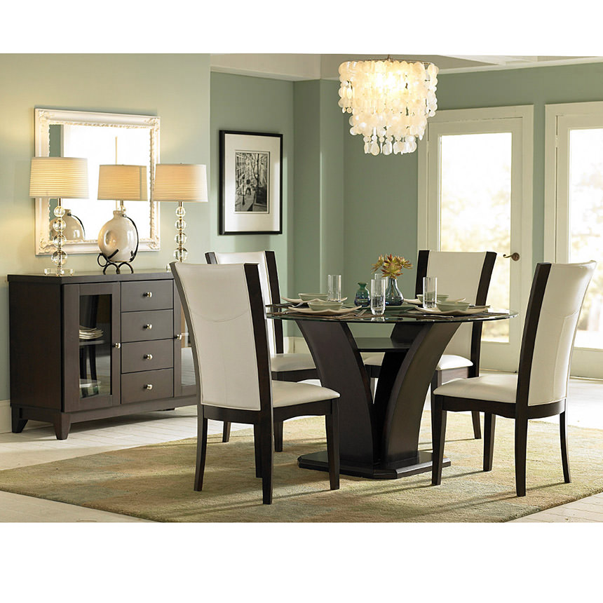 Daisy White 5-Piece Casual Dining Set  alternate image, 10 of 10 images.