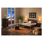Bellmar White Twin Platform Bed  alternate image, 2 of 8 images.