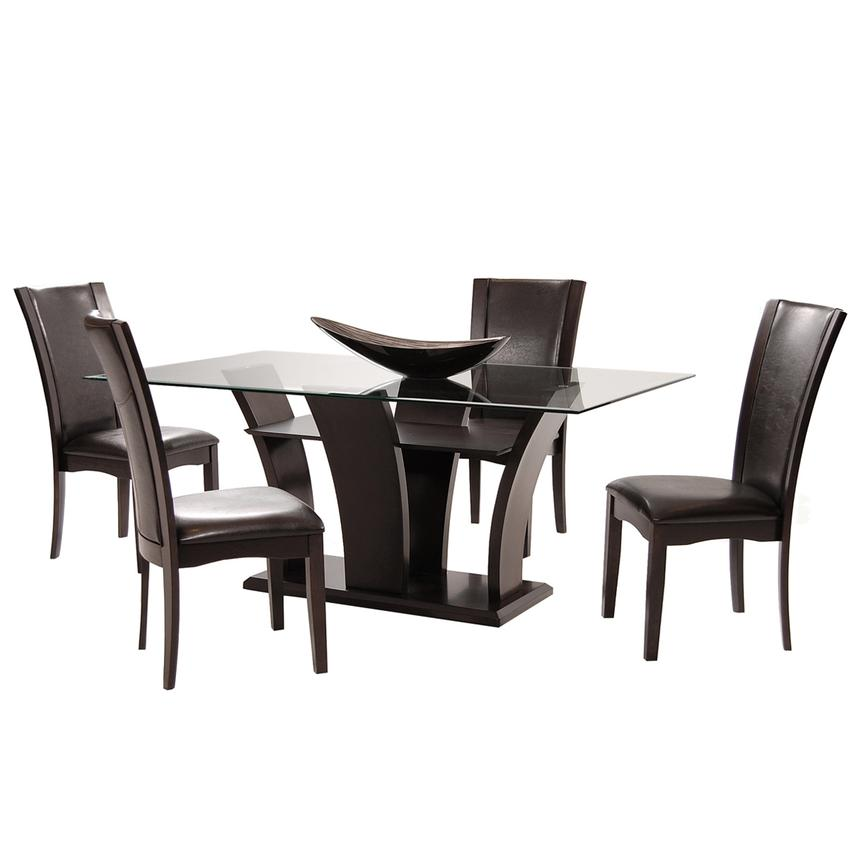 Daisy Brown 5-Piece Casual Dining Set  main image, 1 of 11 images.