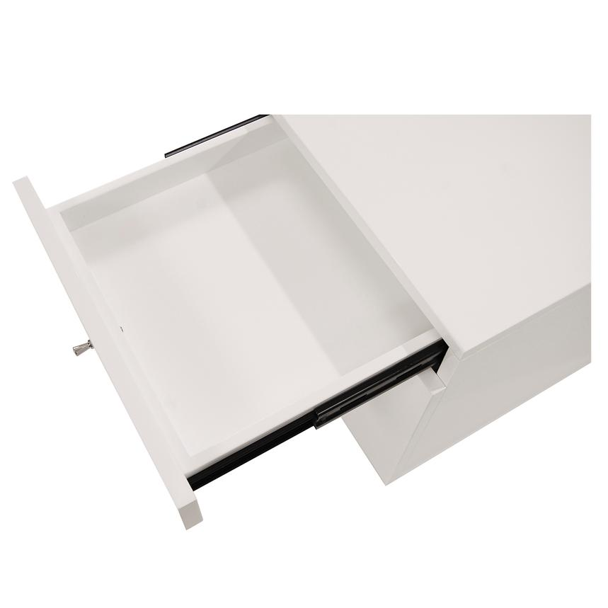 Vitra White Rolling File Cabinet  alternate image, 4 of 7 images.