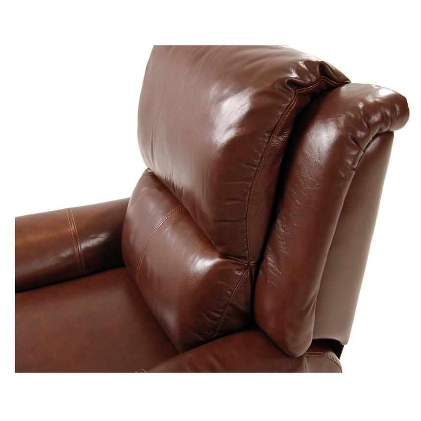 Mount Brown Power Motion Leather Recliner  alternate image, 5 of 8 images.