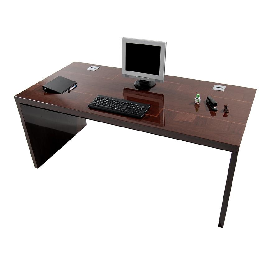 Pisa Executive Desk Made in Italy  alternate image, 4 of 7 images.