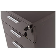 Bellmar Brown Lateral File Cabinet  alternate image, 5 of 6 images.