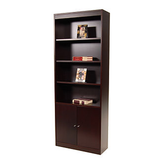 Bellmar Brown Bookcase