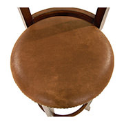 Santa Fe Swivel Bar Stool  alternate image, 4 of 5 images.