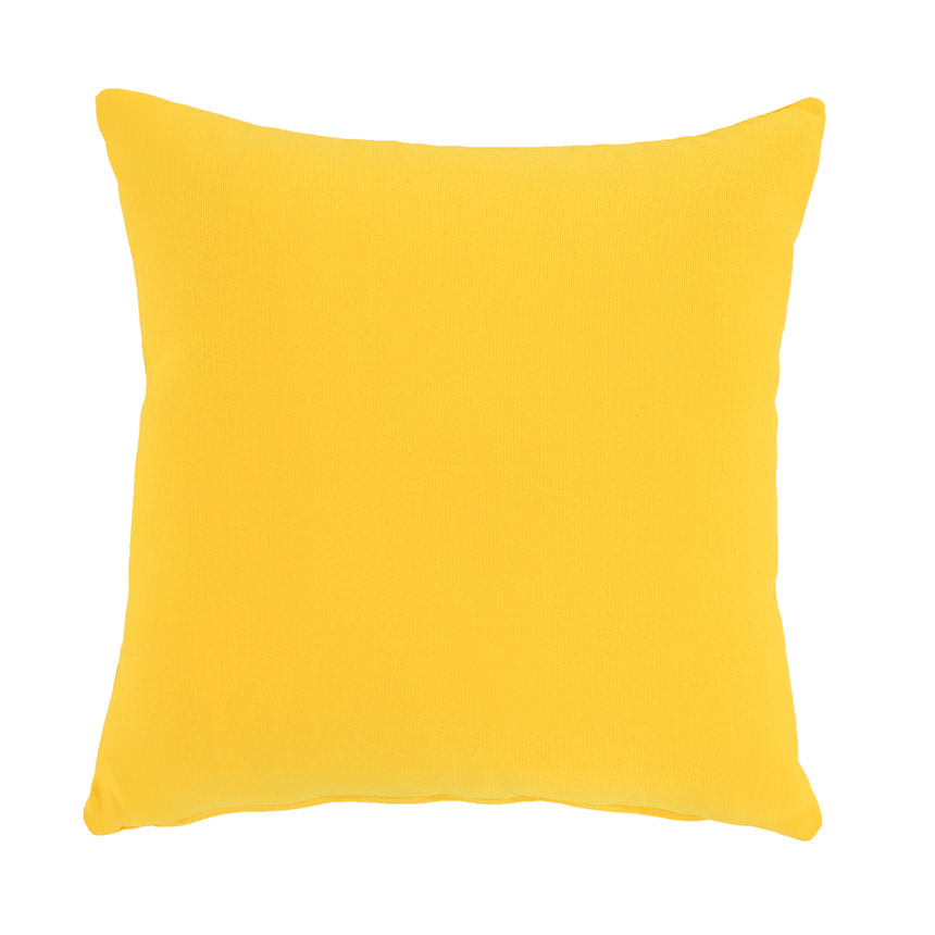 Yellow Outdoor Pillow  main image, 1 of 4 images.