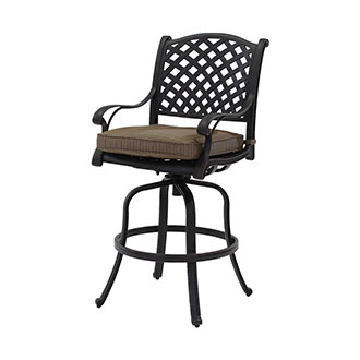 Castle Rock Brown Bar Stool