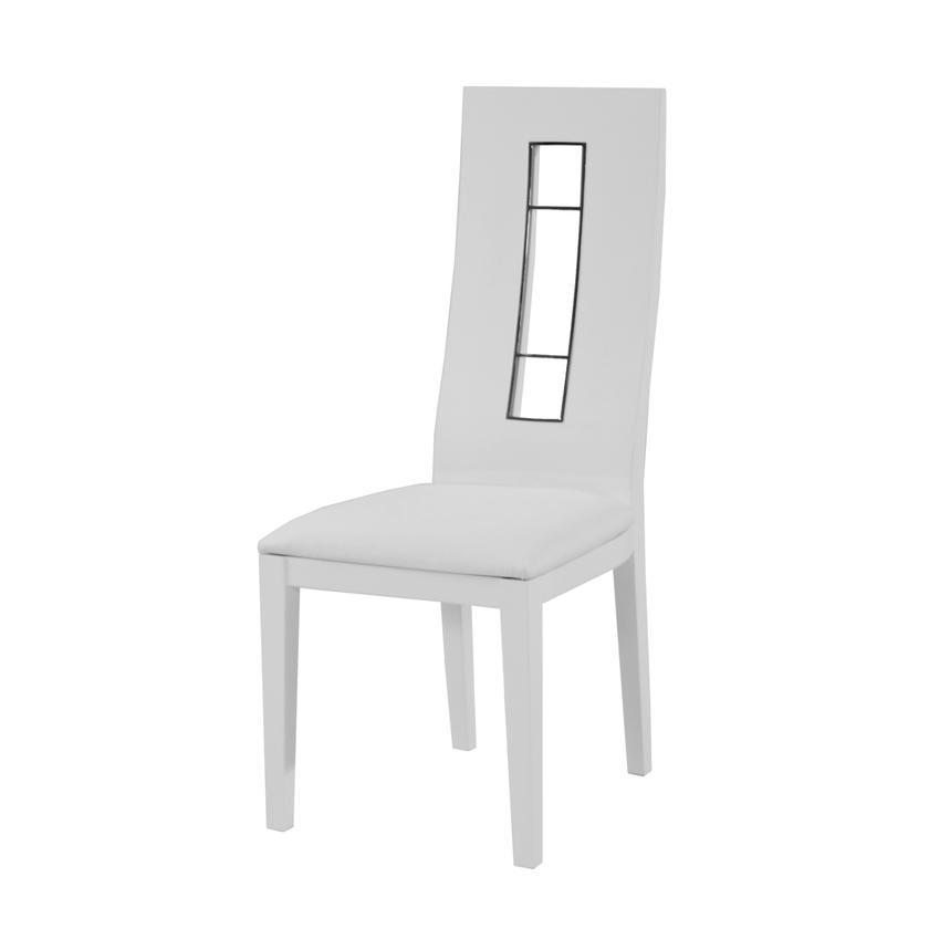 Formal Dining Room Sets For 10: Novo White 5-Piece Formal Dining Set
