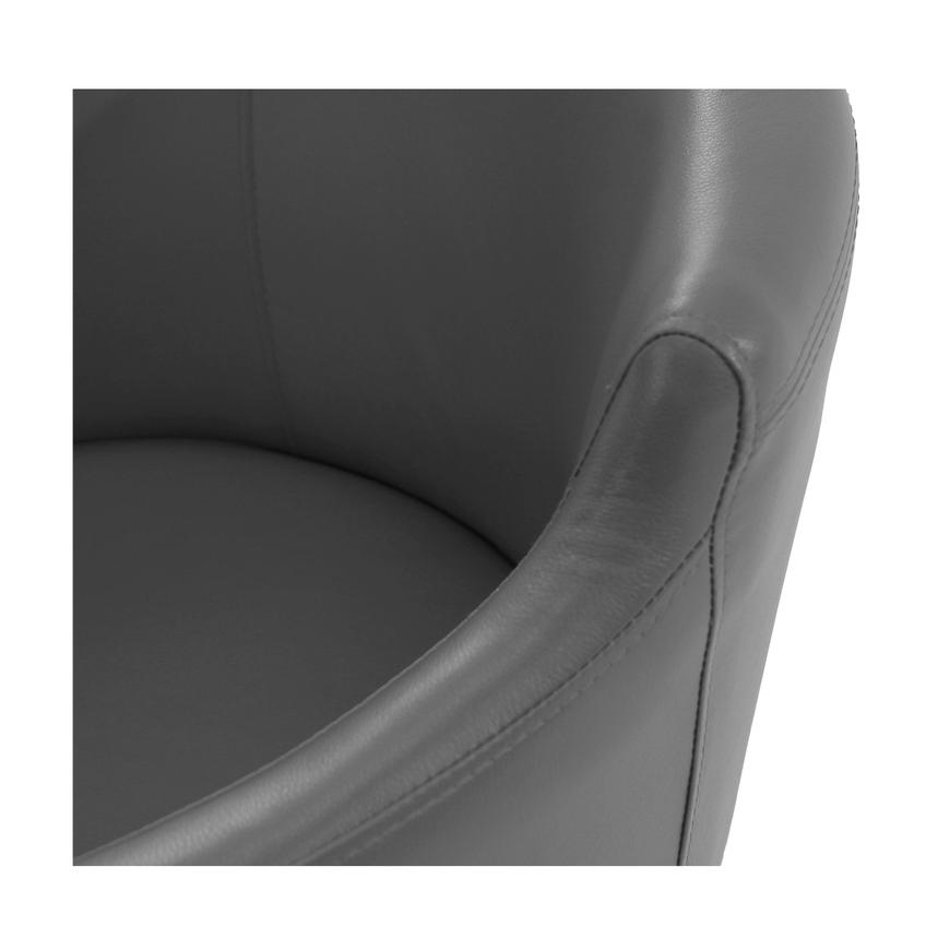 Dusty Gray Arm Chair  alternate image, 4 of 6 images.