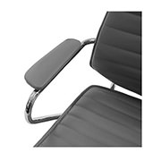 Enterprise Gray Desk Chair  alternate image, 4 of 6 images.