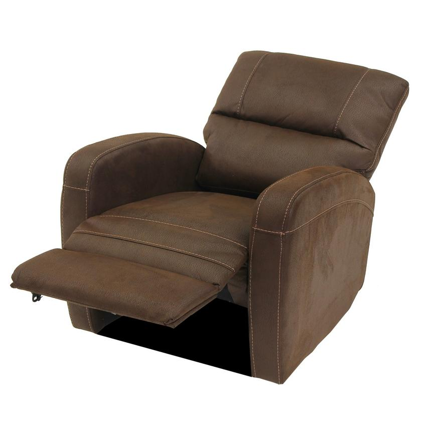 Keelogan Brown Power Motion Recliner  alternate image, 4 of 8 images.