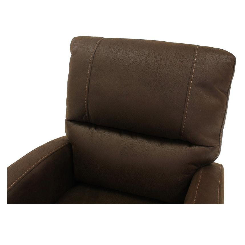Keelogan Brown Power Motion Recliner  alternate image, 5 of 7 images.