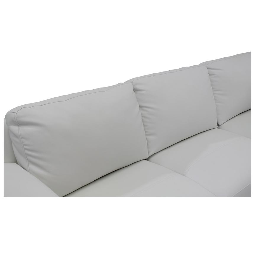 Cantrall White Sofa w/Right Chaise  alternate image, 5 of 6 images.