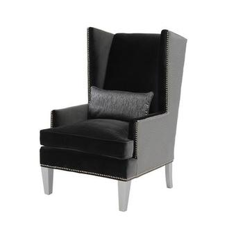 Superieur Laura Dark Gray Accent Chair
