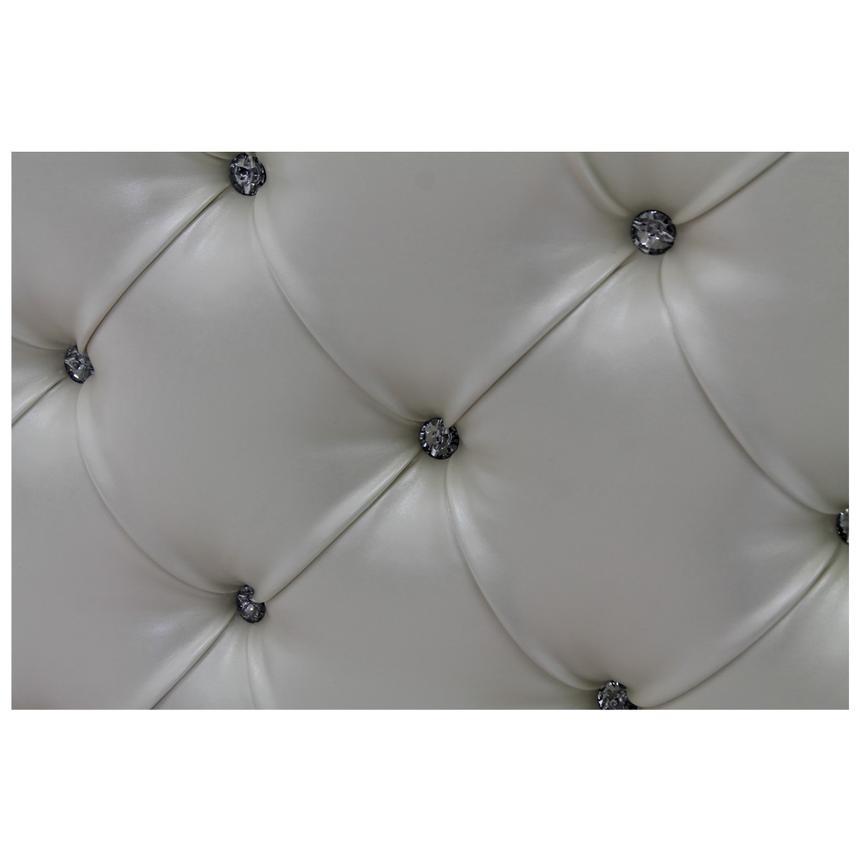 Sweet Pea White Full Panel Bed El Dorado Furniture