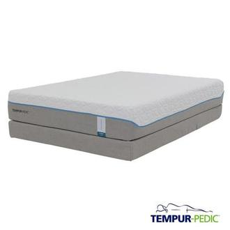 Cloud Supreme Memory Foam Queen Mattress Set w/Low Foundation by Tempur-Pedic