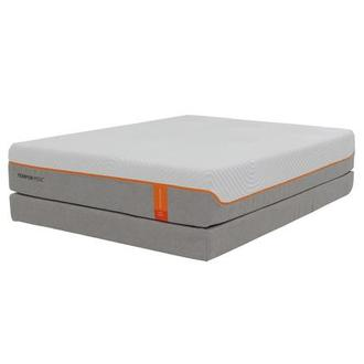 Contour Elite Twin XL Memory Foam Mattress w/Low Foundation by Tempur-Pedic