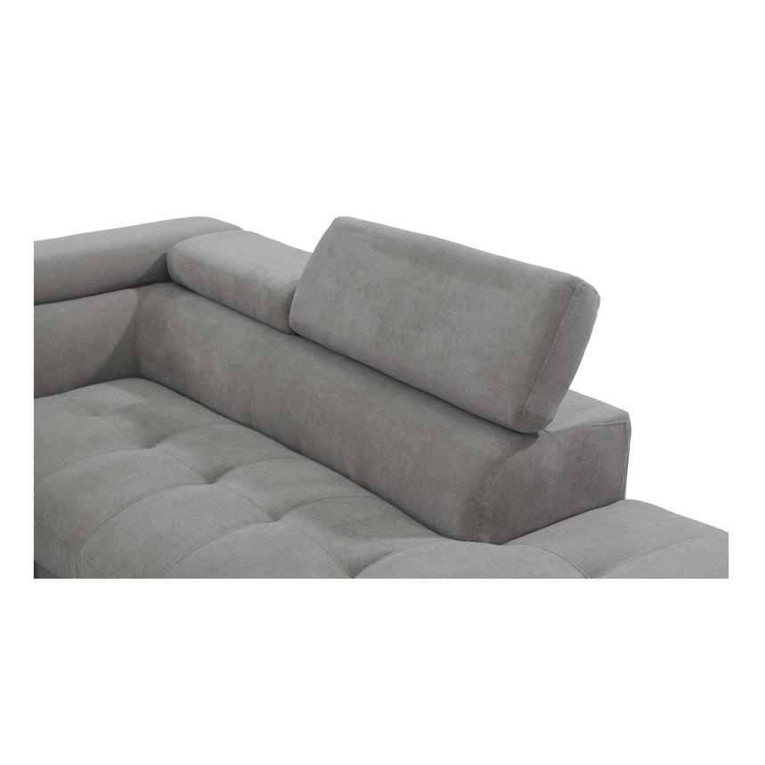 Taheri Gray Sofa w/Right Chaise  alternate image, 4 of 8 images.
