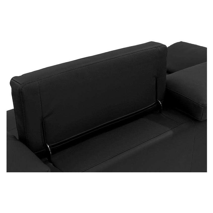Costa Black Sofa w/Right Chaise  alternate image, 5 of 7 images.