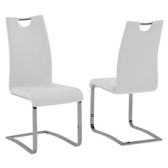 Josseline White Side Chair