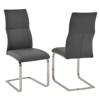 Colette Gray Side Chair