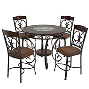 Glambrey 5-Piece High Dining Set  main image, 1 of 9 images.