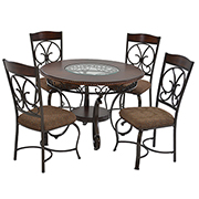 Glambrey 5-Piece Casual Dining Set  main image, 1 of 9 images.