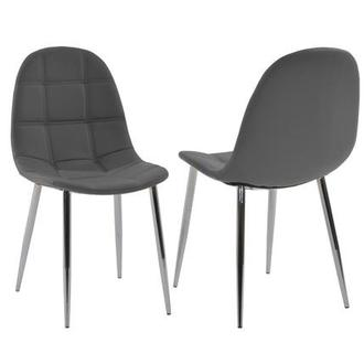 Clotus Gray Side Chair