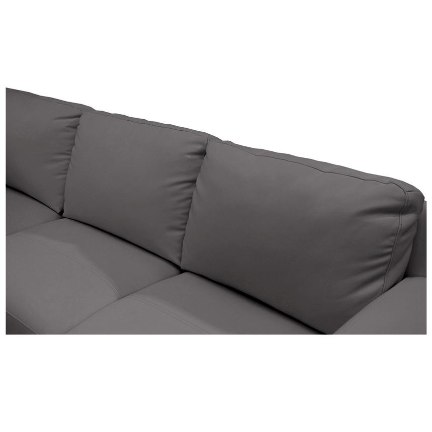 Cantrall Dark Gray Sofa w/Left Chaise  alternate image, 5 of 6 images.