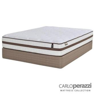 Alessandria Full Mattress Set w/Low Foundation by Carlo Perazzi