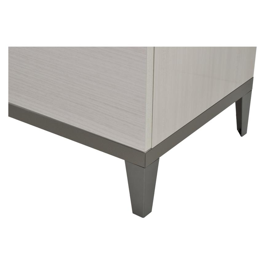 Mont blanc gray buffet made in italy el dorado furniture for Sideboard xenia