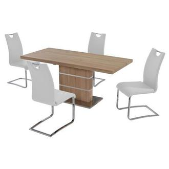 Lorange/Josseline White 5-Piece Casual Dining Set