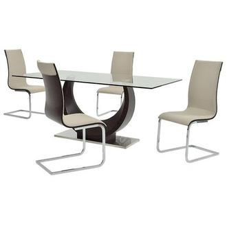 Lunar 5-Piece Casual Dining Set