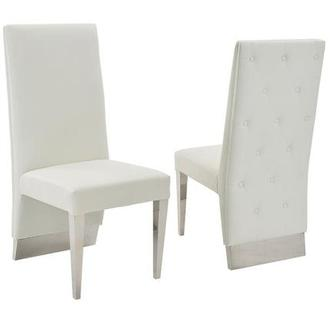 Ulysis White Side Chair