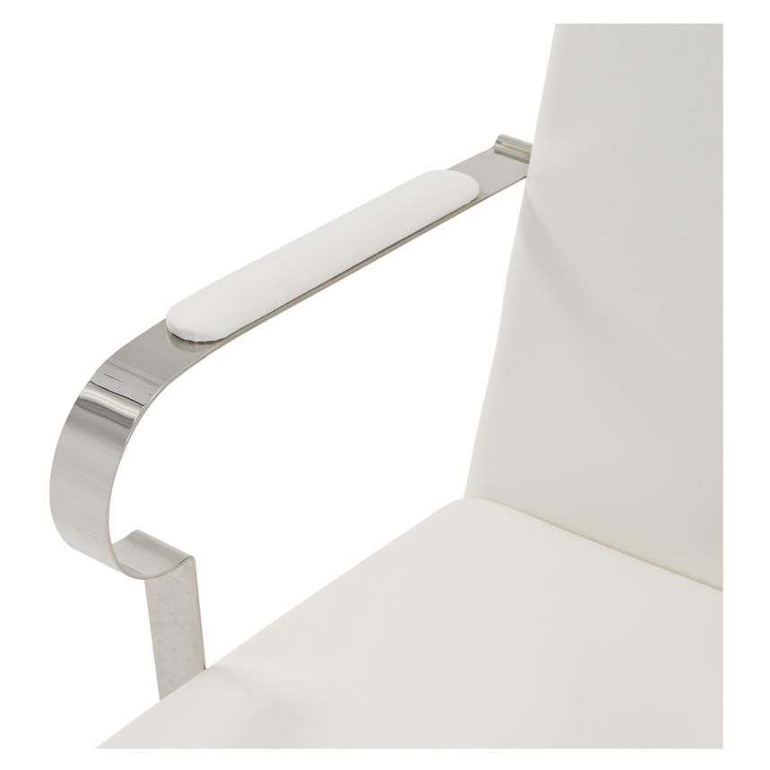 Ulysis White Arm Chair  alternate image, 4 of 6 images.