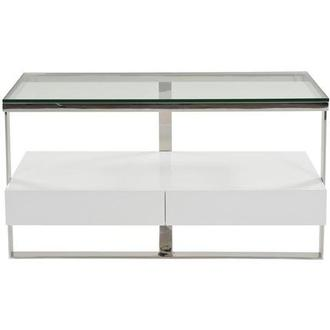Calypso White Console Table