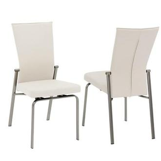 Tara White Side Chair