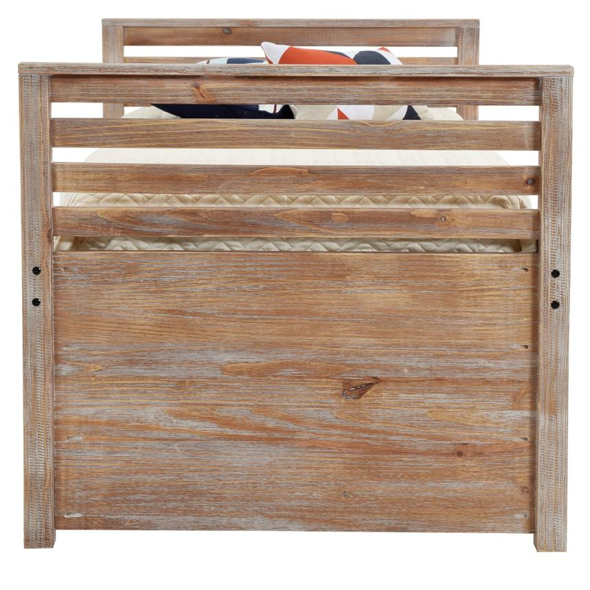 Montauk Natural Twin Storage Captain Bed Made in Brazil  alternate image, 4 of 8 images.