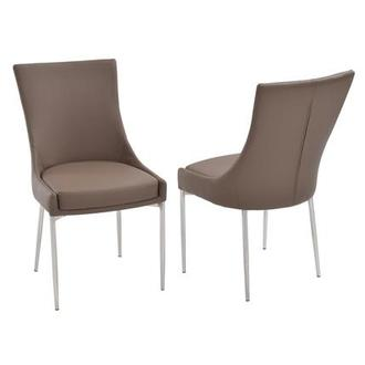 Patricia Taupe Side Chair