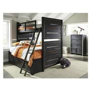 Graphite Twin Over Full Bunk Bed  alternate image, 2 of 8 images.