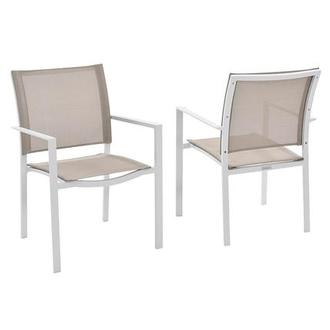 Mykonos Cream Dining Chair
