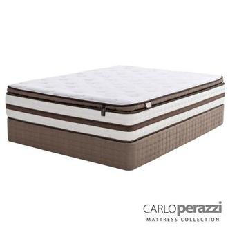 Catania Full Mattress Set w/Regular Foundation by Carlo Perazzi