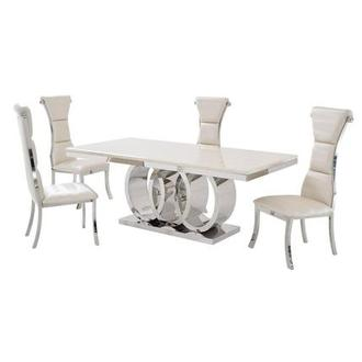 Lillian 5-Piece Formal Dining Set