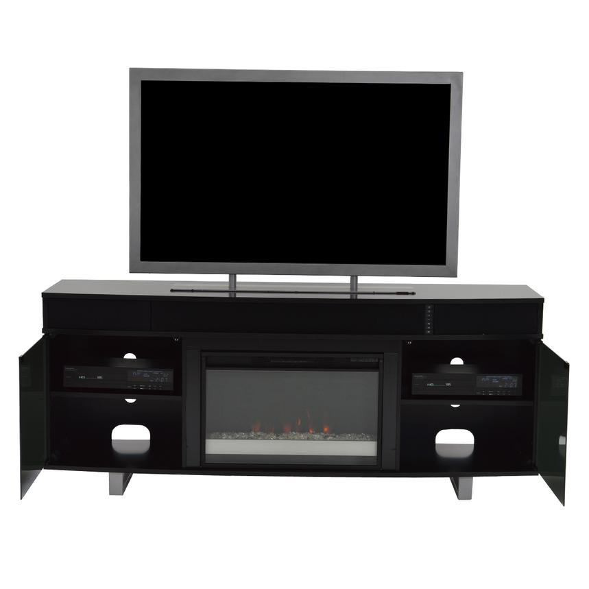 Enterprise Black Wall Unit w/Speakers  alternate image, 4 of 12 images.